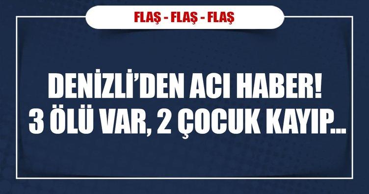 Denizli'de feci kaza: 3 ölü!