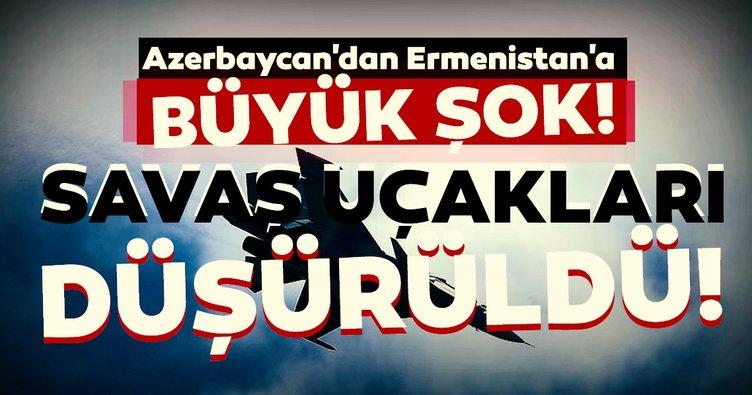 Son dakika haberi | Azerbaycan'dan Ermenistan'a büyük şok! 2 Su-25 savaş uçağı düşürüldü...