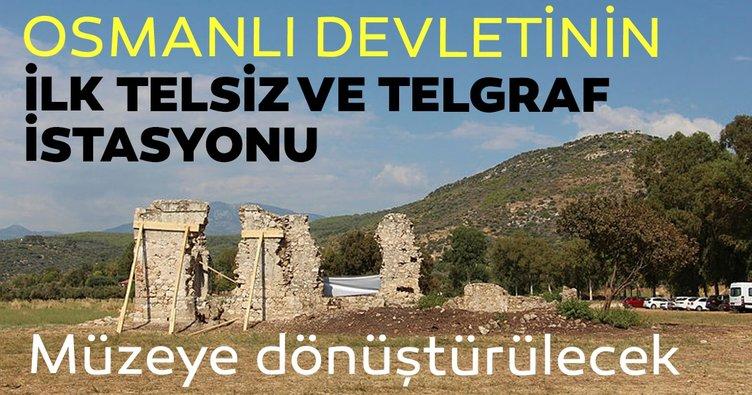 Osmanlı Devletinin ilk telsiz ve telgraf istasyonu