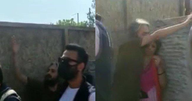 İstanbul'un göbeğinde tepki çeken olay! İspanyol kadın Türk bayrağını yırttı, ortalık karıştı