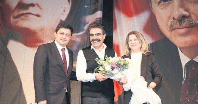 AK Kadınlar'dan şiddete karşı el ele