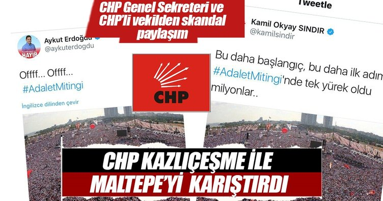CHP'li Sındır ve Aydoğdu'dan skandal paylaşım!