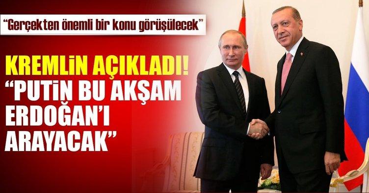 Son dakika haberi... Putin, Erdoğan ile görüşecek