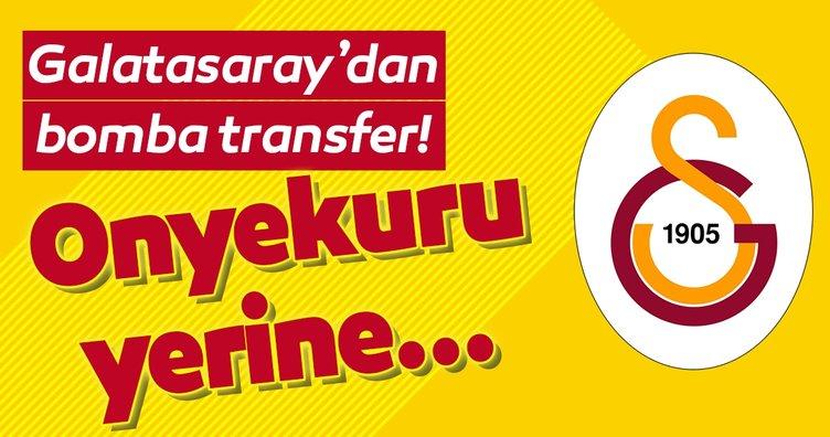 Galatasaray'dan bomba transfer! Onyekuru yerine...