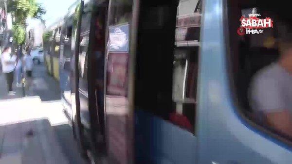 Esenyurt'ta sosyal mesafesiz yolculuk: 12 yerine 30 yolcu çıktı | Video