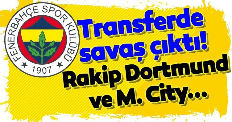 Transferde savaş çıktı! Rakip M. City ve Dortmund...