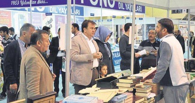 Kitap fuarını 5 günde 43 bin kişi ziyaret etti
