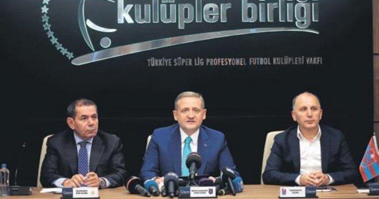 Dursun Özbek, Kulüpler Birliği Vakfı Başkanlığı'na aday