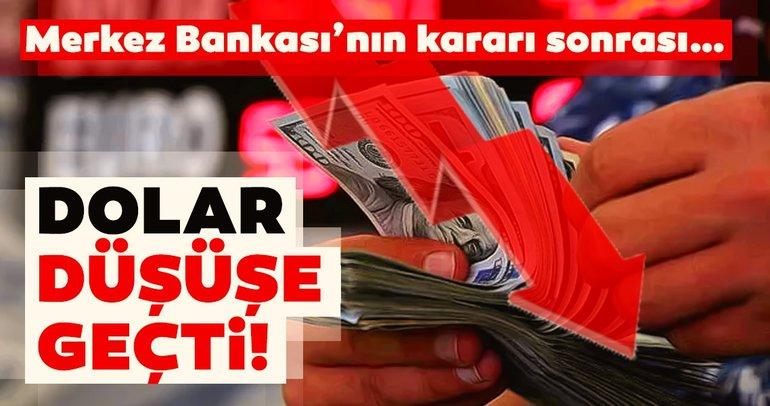 Faiz indirimi sonrası dolar ve euro düşüşe geçti!