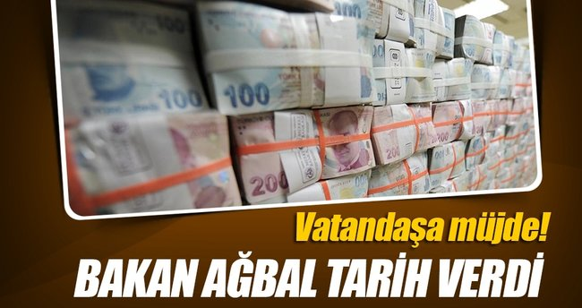Bakan Ağbal'dan vergi borçlarıyla ilgili açıklama