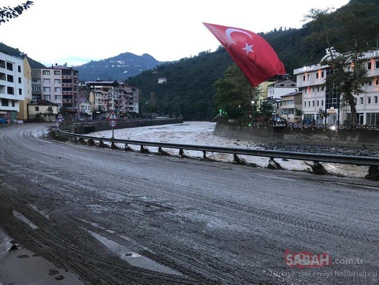 Giresun'daki sel felaketiyle ilgili Cumhurbaşkanlığından son dakika açıklaması: Tüm imkanlar seferber edildi