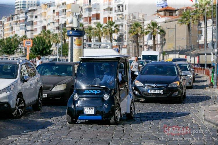 Elektrikli mini araç 'paylaşımlı' olarak yollara çıkacak