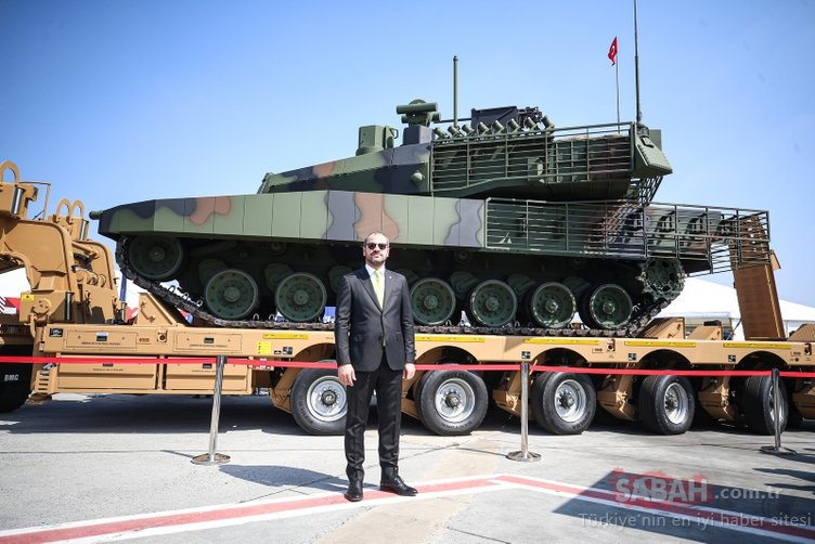 Teknofest'te büyük heyecan! Altay tankı için çarklar dönmeye başladı