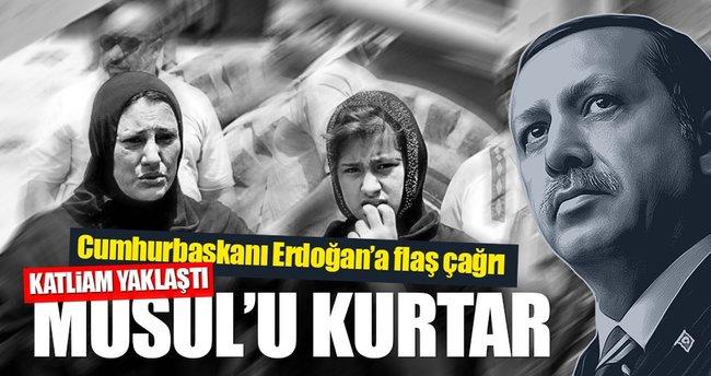 Musullu yazardan Erdoğan'a çağrı: Musul'u kurtar