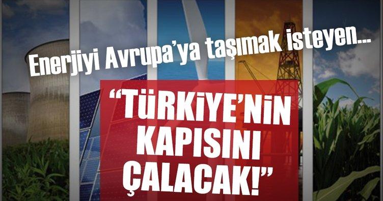 Enerjiyi Avrupa'ya taşımak isteyen Türkiye'nin kapısını çalacak