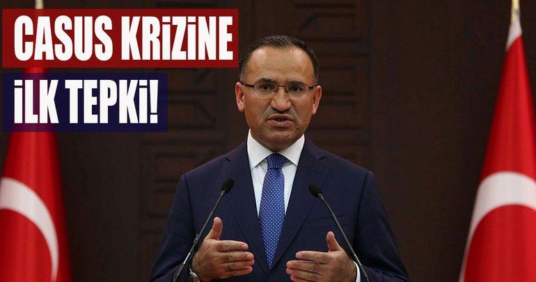Casus krizine Türkiye'den ilk tepki