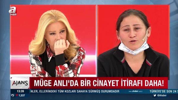 Alime Toprak kocasını öldürdüğünü canlı yayında Müge Anlı'ya itiraf etti   Video