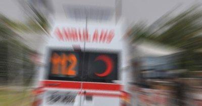 Elazığ'da yolcu otobüsü devrildi!