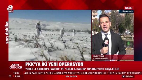 İçişleri Bakanlığı duyurdu! Eren 4-5 operasyonları başlatıldı...