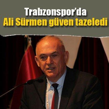 Trabzonspor'da Ali Sürmen güven tazeledi