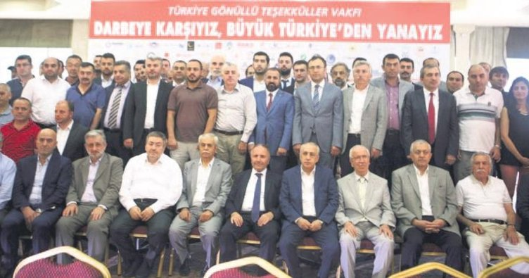 """""""Büyük Türkiye'nin yanındayız"""""""