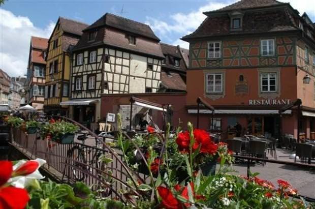 Fransa'daki masal diyarı Colmar