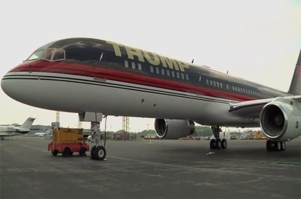 ABD Başkanı Donald Trump'ın özel jeti