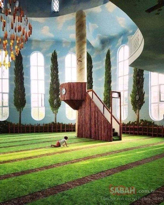 Bakara Suresi'nden ilham alınarak yapıldı, dünyanın en ünlü camisi oldu