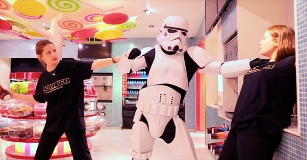 'Mannequin Challenge'a Star Wars da katıldı!