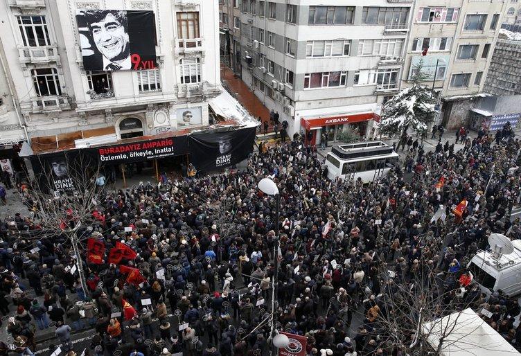 Hrant Dink'i anma töreninden kareler!