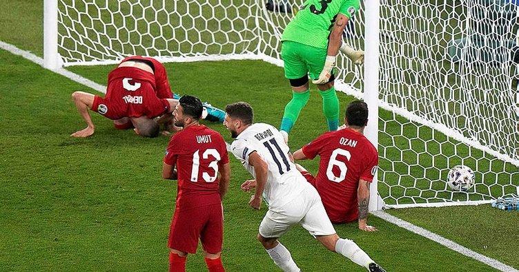 EURO 2020'ye talihsiz başlangıç! Ay-yıldızlılar, İtalya'ya 3-0 kaybetti...