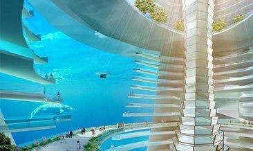 Çin'de yapılması planlanan inanılmaz yüzen sualtı şehri