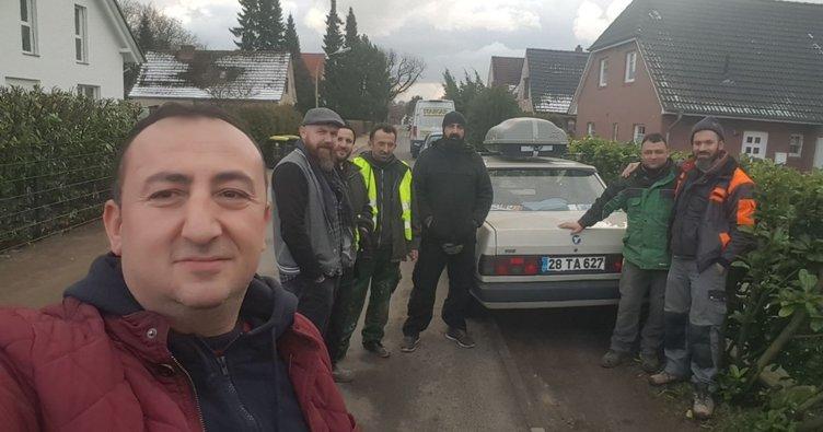 89 model Şahin'le Avrupa turu