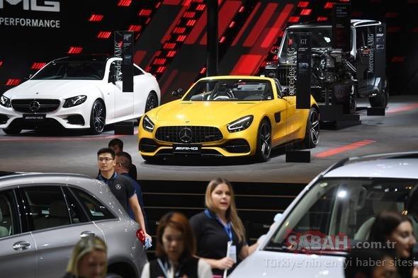 Şangay Otomobil Fuarı (2019 Auto Shanghai) başladı! Birbirinden lüks otomobiller fuardaki yerini aldı