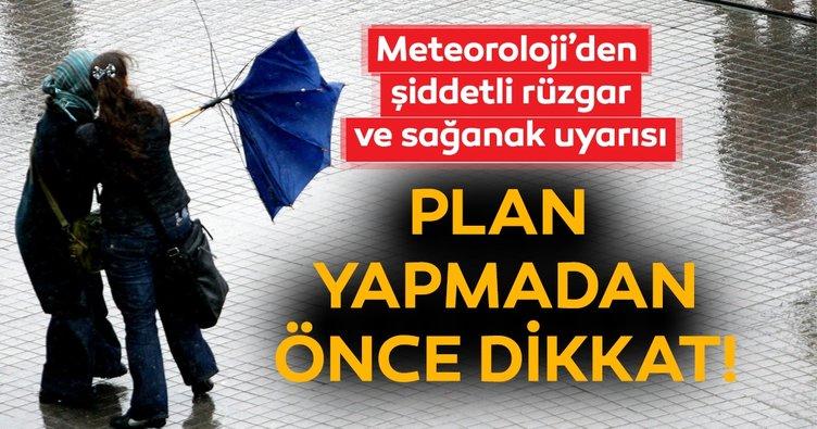 Meteoroloji'den son dakika hava durumu ve sağanak yağış uyarısı! Bugün hava nasıl olacak? 19 Mayıs