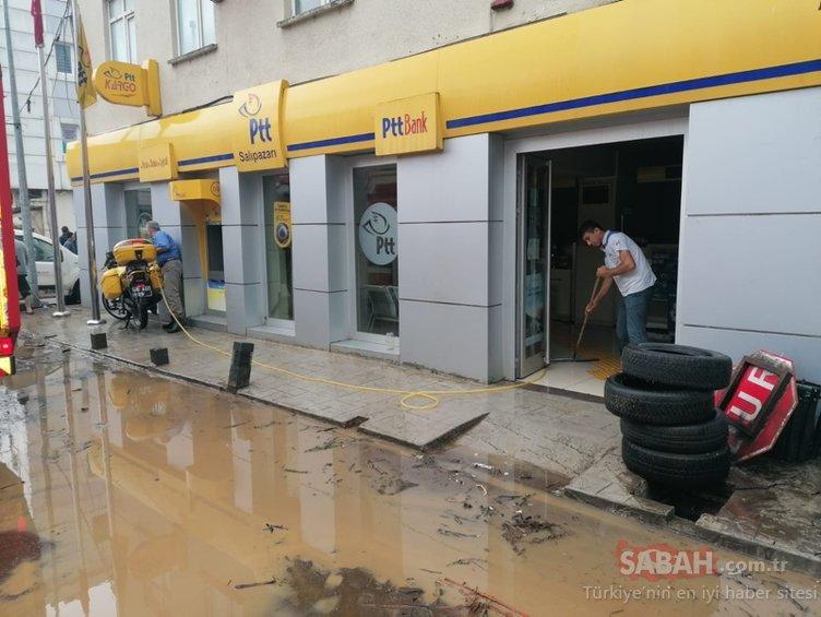 سامسون الأخبار المريرة!  الفيضان المفاجئ ابتلع مقاطعة