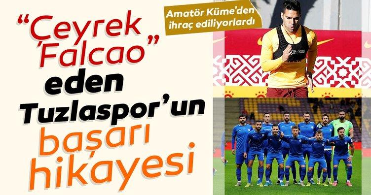 Çeyrek Falcao eden Tuzlaspor'un başarı hikayesi