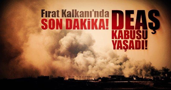 Fırat Kalkanı'nda son dakika: 2 DEAŞ merkezi imha edildi