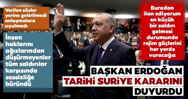 Son dakika haberi: Başkan Erdoğan beklenen açıklamayı yaptı: Her yerde vuracağız İşte Erdoğan'ın açıklamaları