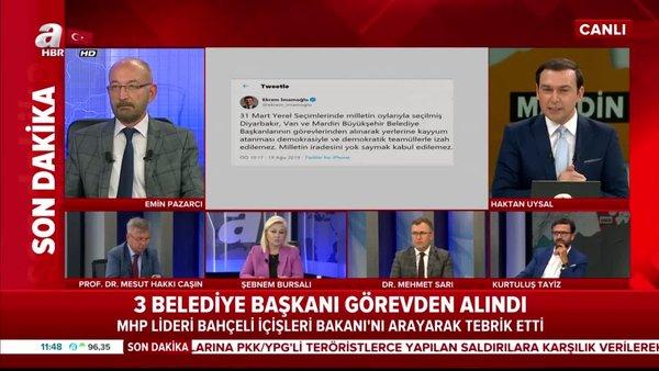 İmamoğlu Bodrum'dan Tweet attı! Terör örgütüne destek veren belediyelere sahip çıktı