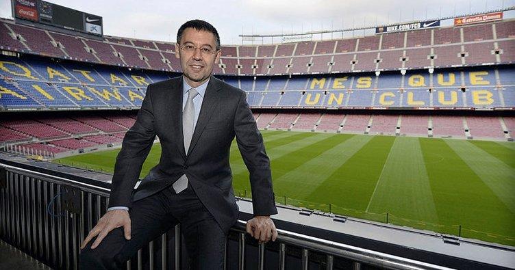 Barcelona Başkanı Josep Bartomeu istifa etti