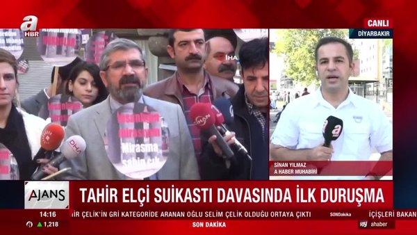 Tahir Elçi'nin öldürülmesi ve iki polisin şehit edilmesine ilişkin dava başladı | Video