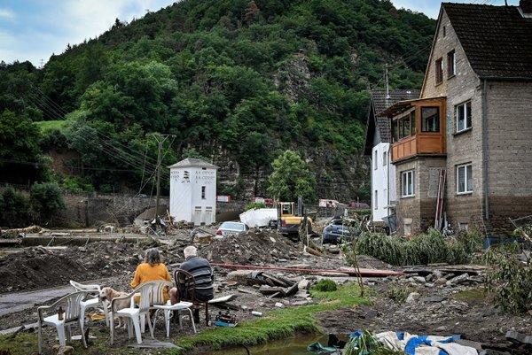 Almanya'dan korkunç haberler geliyor! Sel ve su baskınlarında ölü sayısı 106'ya yükseldi