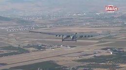 Yerli insansız hava muharebe aracı 'Aksungur' bir ilki başardı!   Video
