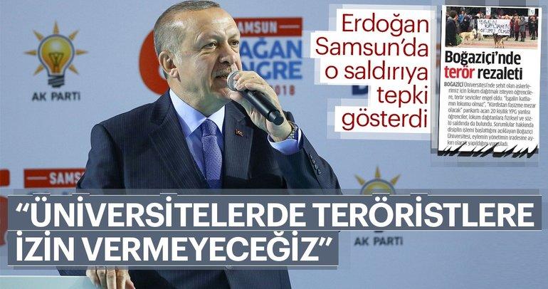 Cumhurbaşkanı Erdoğan Samsun'da açıkladı: Diriliş hareketi yeniden başladı