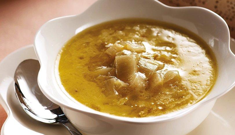 Kremalı Beyaz Hindiba Çorbası