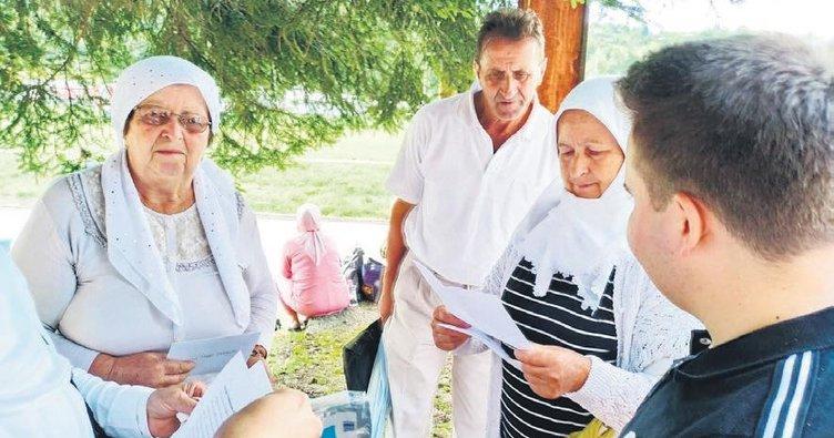 Türk çocuklarından Srebrenitsa annelerine mektup