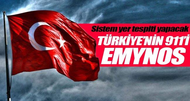 Türkiye'nin 911'i EMYNOS