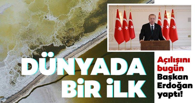 Açılışını bugün Başkan Erdoğan yaptı: Dünyada bir ilk!