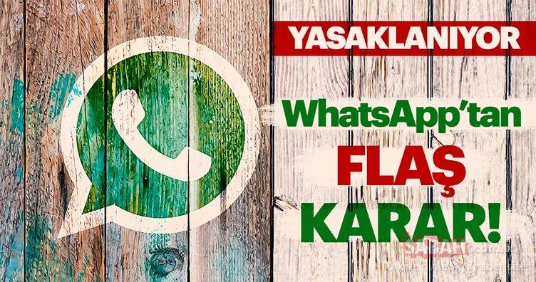 WhatsApp'tan çok konuşulacak mesaj yasağı! Artık Whatsapp sohbet ekran görüntüsü....